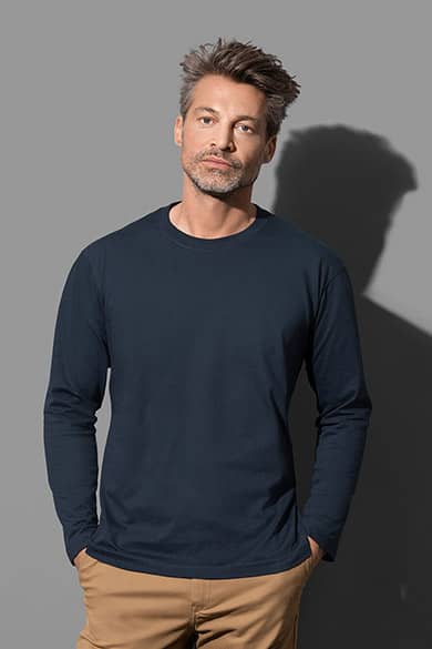 Tee-shirt manches longues pour hommes