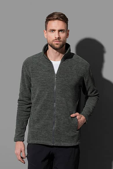 Stedman Melange Fleece Jacket