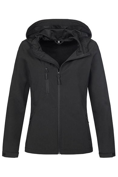 Stedman Softest Shell Hooded Jacket