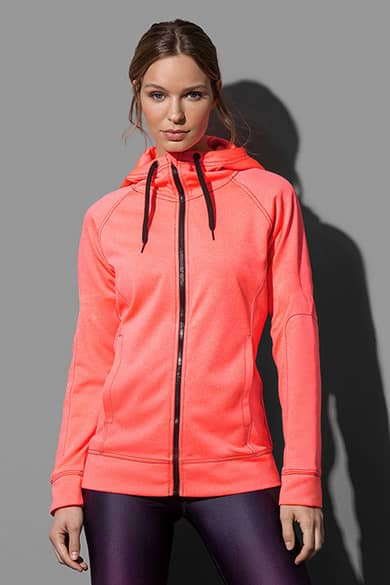 Hooded jacket for women
