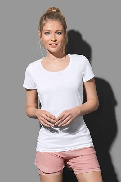 Crew neck T-shirt for women