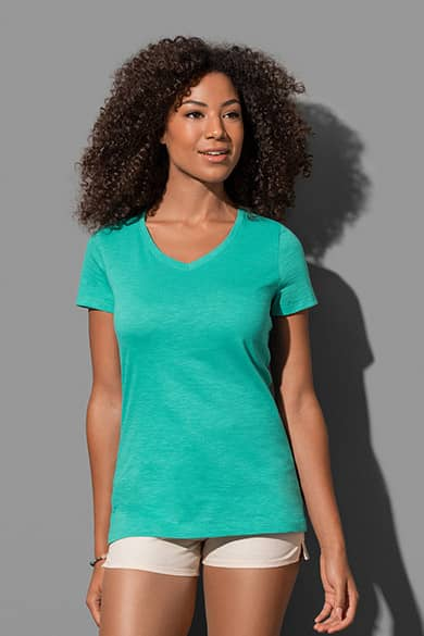 Stedman Sharon Slub V-neck
