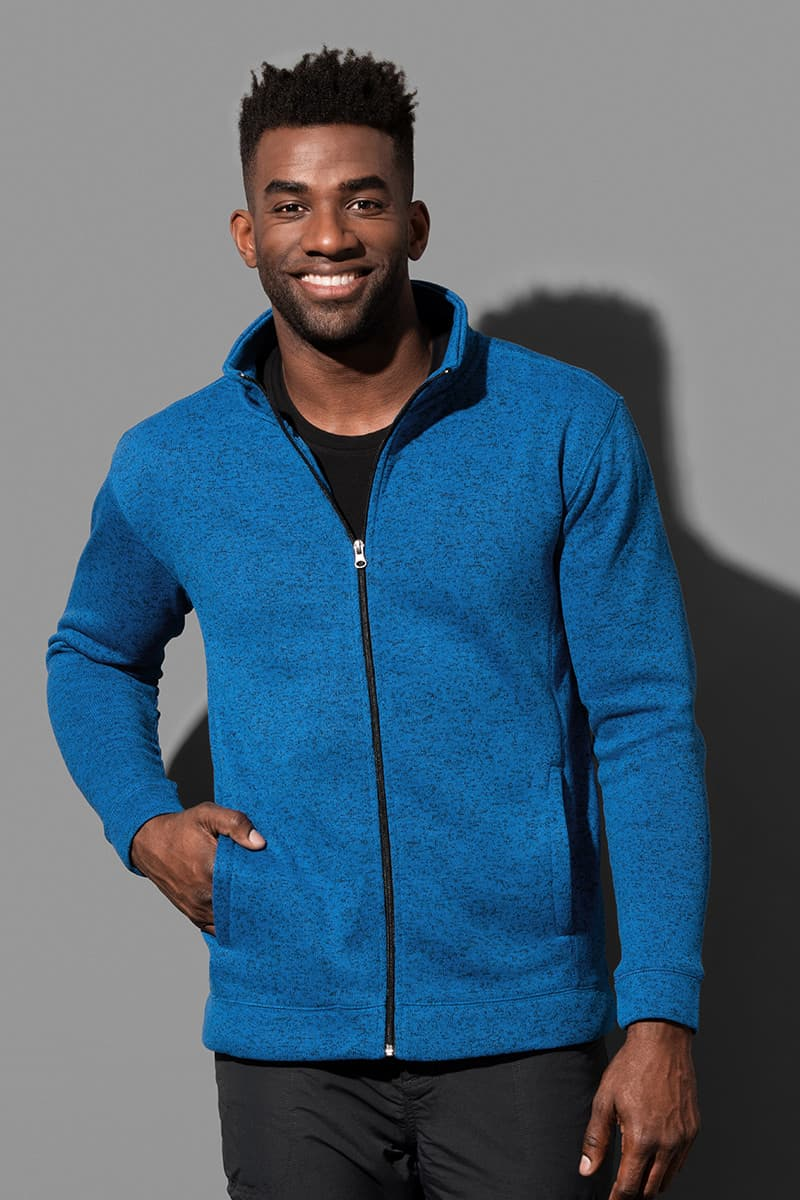 Knit Fleece Jacket - Chaqueta fleece para hombres model 1