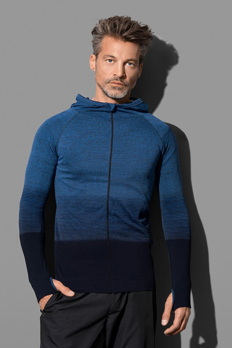 Seamless Jacket - Hooded jacket for men model 1