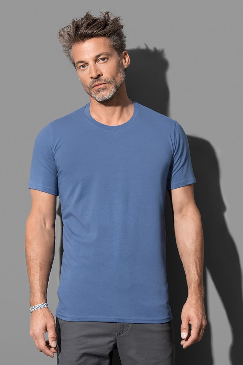 Clive Crew Neck - Crew neck T-shirt for men model 1